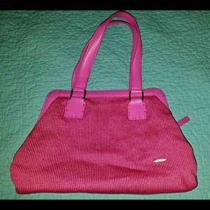 The Sak pink knit shoulder bag