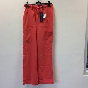 Koi Sapphire Alicia Coral Scrub pants size XS Tall