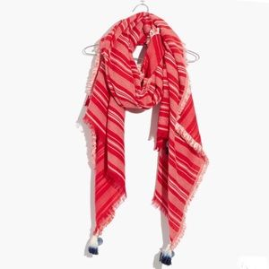 Madewell Striped Convertible Scarf Sarong