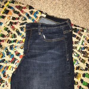 Gap skinny ankle jeans size 29
