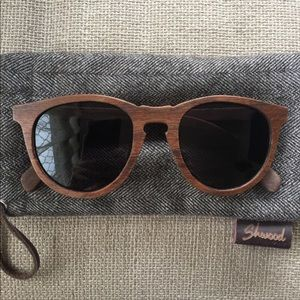 SHWOOD 'Belmont' 48mm Wood Sunglasses