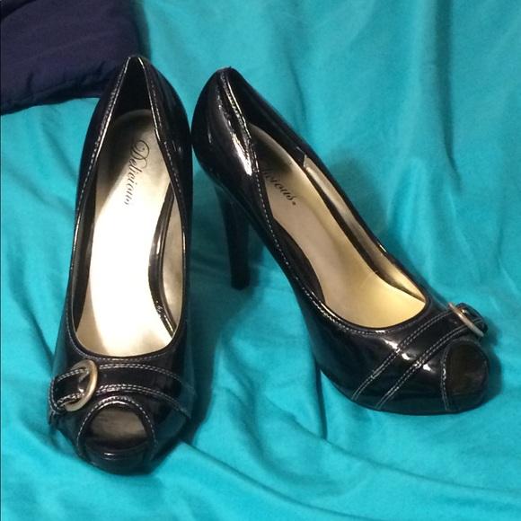d0c3757729d Delicious Woman s Sz 9 Ebony Heels