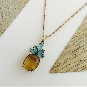Banana republic pineapple necklace