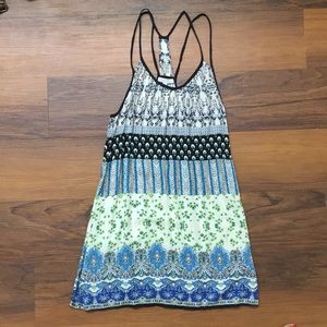 Patterned Multi-Colored Summer Dress