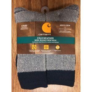 Men's Carhartt Cold Weather Wool Blend Crew Sock