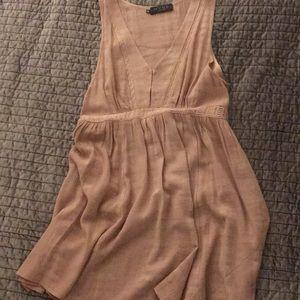 MYNE blush pink tank dress
