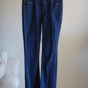 Levis 526 Slender Boot Stretch Jeans Mid Rise