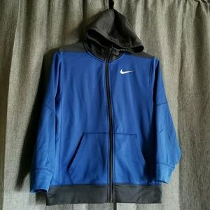Nike youth SIZE Large Zip-UP Hoodie