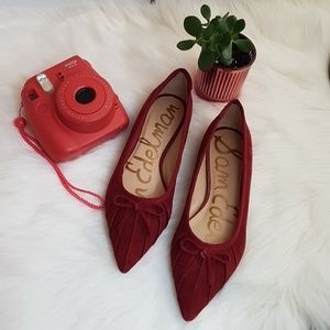 NWOT Sam Edelman Rosalyn Suede Pointed Toe Flats