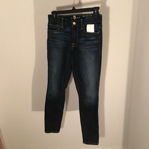 7 for all mankind kimmie skinny jeans