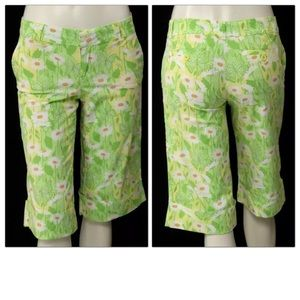 Lilly Pulitzer Palm Beach Long Bermuda Shorts