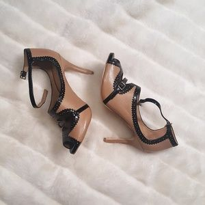 Ann Taylor Genuine Leather Heels