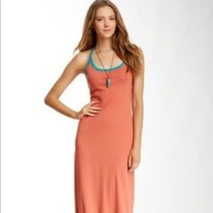 Thread 4 Thought Orange Maxi Dress Size L