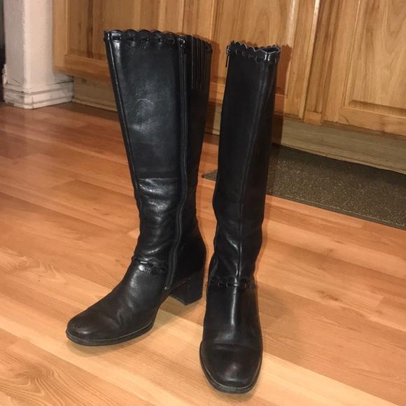 406827e13a3338 Clarks Shoes   Artisan Tall Boots Size 8m   Poshmark