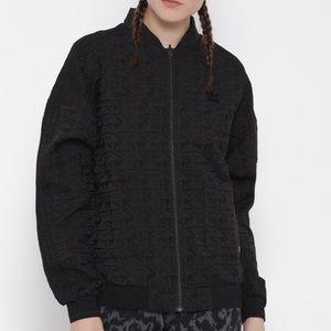 Adidas originals Track Jacket Jacquard Black NWOT