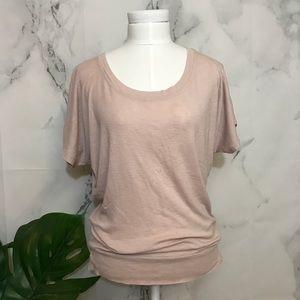Lucy & Laurel Pink Dolman T-Shirt