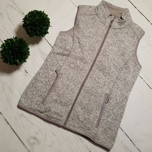 BNWOT HEATHER GRAY VEST