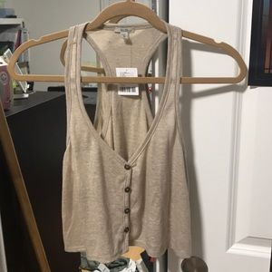Urban outfitters tan top