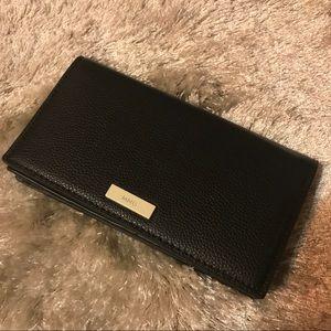 NWOT Mango Black Wallet