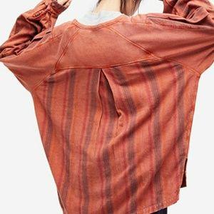 Free People Jackson Wyoming Sweatshirt/Tunic