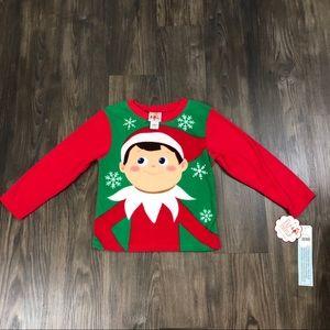 The Elf on the Shelf long sleeve fleece sweatshirt