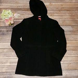 Anne Klein Black Coat Size PS