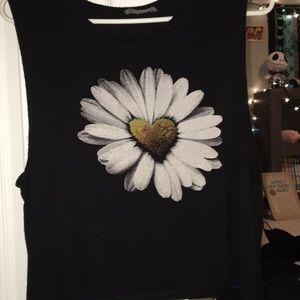 Flower Crop Top