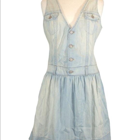 2b5948a4232 True Religion Dresses | Roxanne Denim Sleeveless Dress | Poshmark