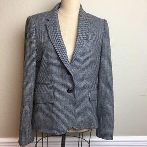 J. Crew schoolboy wool blend blazer