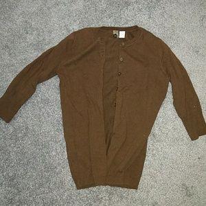 Three Quarter sleeve cardigan
