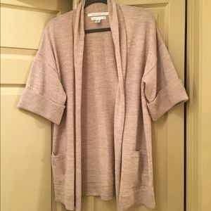 Max Studio short sleeved chunky cardigan, size XL