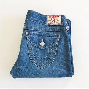 "True religion bootcut jeans 30x 32"""