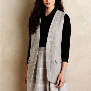 Elevenses Eaton wool vest with pockets
