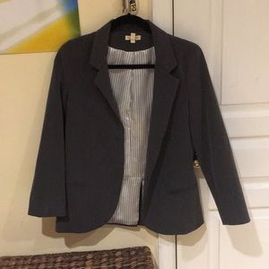 Used grey blazer silence + noise S