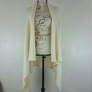 Flyaway Open Front Knit Cardigan by Mossimo Sz XXL
