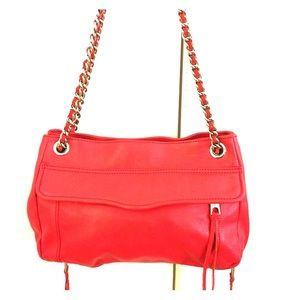 REBECCA MINKOFF  RED SHOULDER BAG/ CROSSBODY