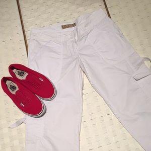 NWOT! ZARA - TRF White Cargo Pants