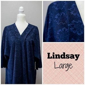 Lace & Lined Navy Lindsay BNWT