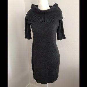 Banana Republic cowl neck sweater dress