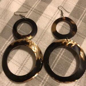 Long shell earrings