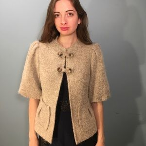 Thorn by Nancy Rose Light Brown Sweater Size M
