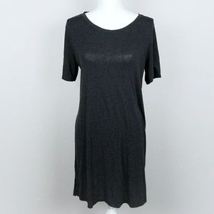 Divided Tshirt Basic Black Dress Casual Cool Trend