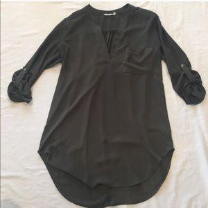 Lush 3/4 Sleeve Tunic Top