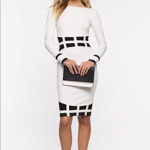 New Age Colorblock Dress