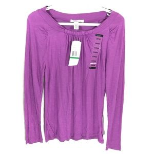 Kenneth Cole NWT long sleeve top size large