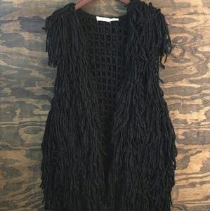 Blu Pepper Yarn Vest
