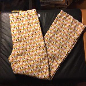 New Zara floral print pants