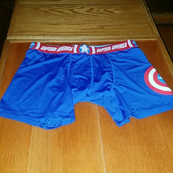 another chance 09aa8 53cad Captain America Compression Undershorts