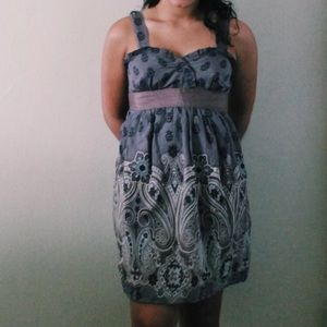 Forever 21 purple sun dress