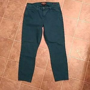 Woman's LUCKY BRAND Sofia Skinny ankle Jeans SZ 14